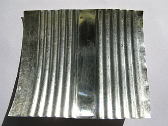 Tinning - Tin layer on the inside of a tin can
