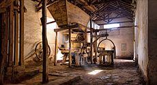 Interior del viejo molino de HuacoAutor: Marcelo Zalazar