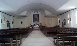 St. James Cathedral, Moyobamba - Internal view