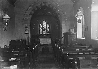 Interior of unidentified church