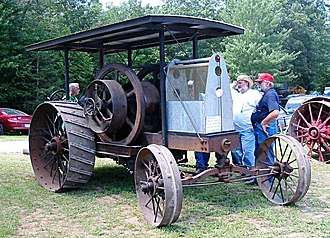 Deering Harvester Company - An early International Harvester tractor from 1920