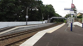 Invergowrie railway station - Image: Invergowrie rail station
