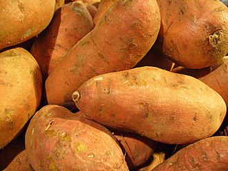 Sweet potato - Sweet potato tubers