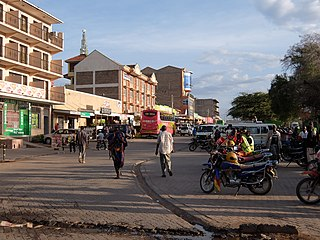 Isiolo Town in Isiolo County, Kenya