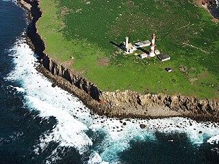 Isla Todos Santos Islands located within the Southern California Bight off the coast of Baja California, Mexico