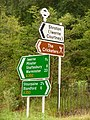 Iwerne Courtney, direction signs at Ranston - geograph.org.uk - 1406237.jpg