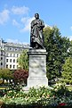 Statue zum Gedenken an Jöns Jakob Berzelius in Stockholm