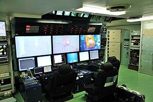 Kaikō ROV - RV Kairei Control Room