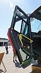 JMSDF Rosenbauer Panther 6x6(41-4125) driver door at Maizuru Air Station July 26, 2015.jpg