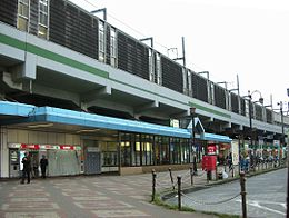 JR East Ukima-Funado Station Side.jpg