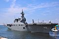 JS Ise departs Osaka for the Open Exercise 2011, -25 Sep. 2011 c.jpg