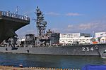 JS Tone departs Osaka for the Open Exercise 2011, -25 Sep. 2011 a.jpg
