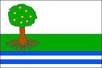 Jabloňany - Image: Jabloňany vlajka