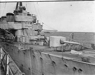 BL 5.5 inch Mark I naval gun - The gun Jack Cornwell served in his Victoria Cross action on the forecastle of HMS ''Chester''
