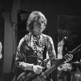 Jack Bruce - Bruce with Cream on Fanclub, 1968