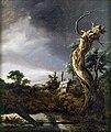 Jacob van Ruisdael - Landschap met dode boom bij opkomende storm.jpg