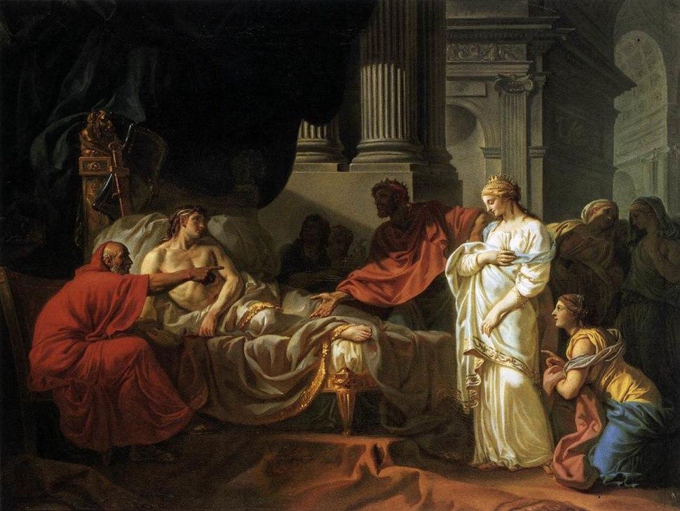 Jacques-Louis David - Antiochus and Stratonica - WGA06042