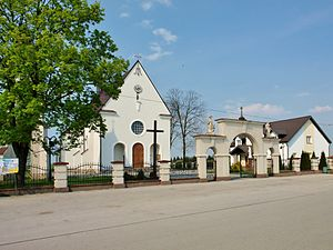 Jadowniki Mokre - Jadowniki Mokre - the Roman Catholic parish church of the Immaculate Heart of Blessed Virgin Mary