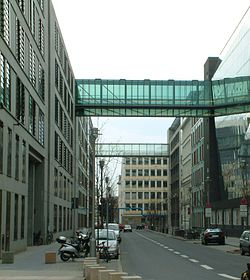 Dorotheenstrasse - right and left buildings of the Jakob-Kaiser-Haus