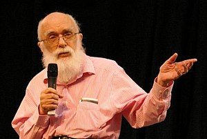 Book test - James Randi often performs the trick.