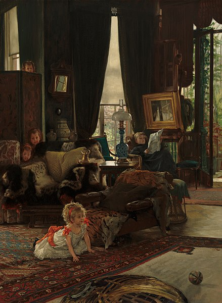 File:James Tissot - Hide and Seek.jpg