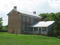 The Clemens Farmhouse, a historic site in the township