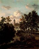 Jan Wijnants - Castle in a forest.jpg