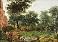 Jan van der Heyden (Attr) - Wooded landscape.jpg