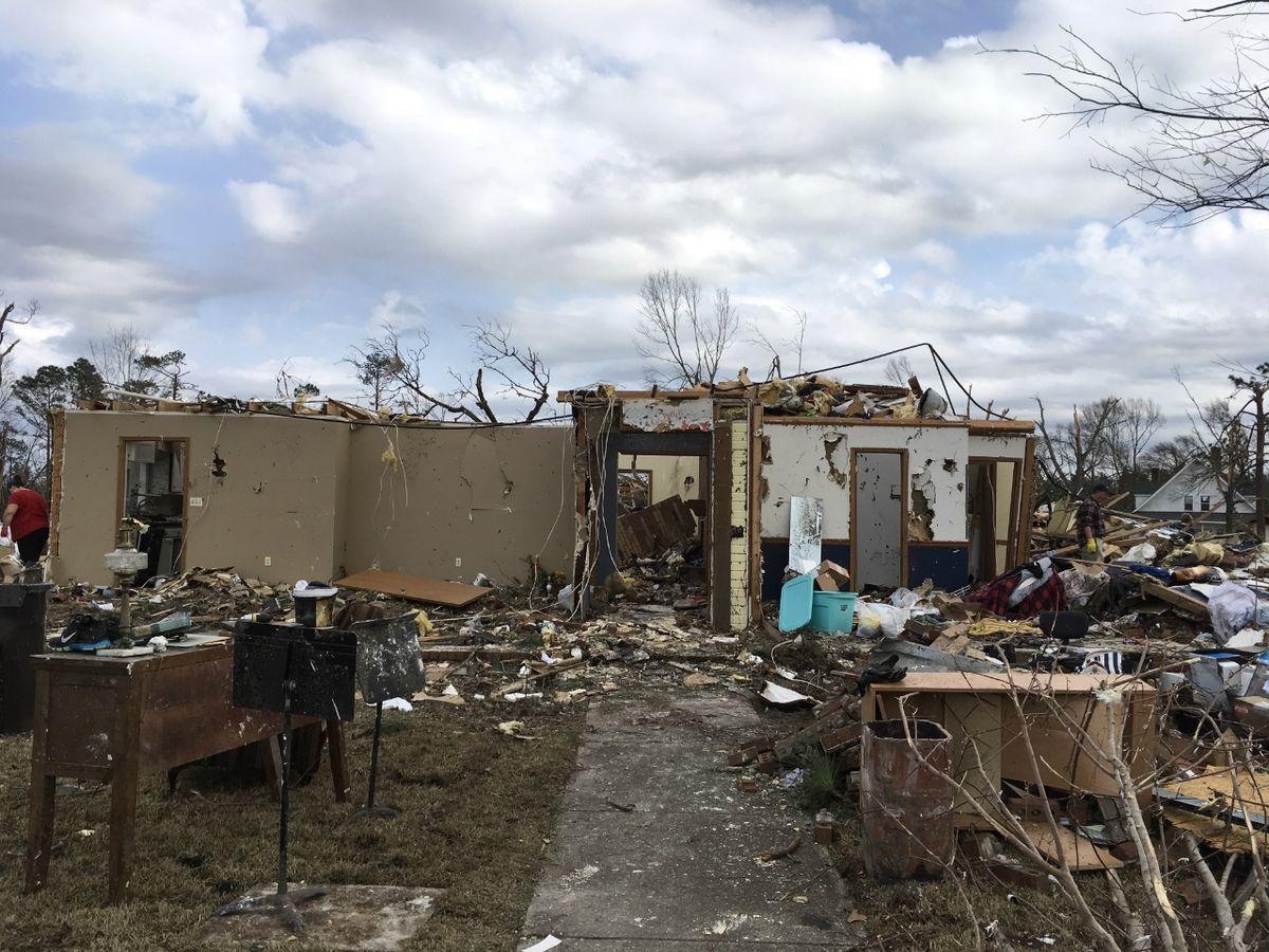 Tornados De Janeiro De 2017 Nos Estados Unidos Wikip 233 Dia