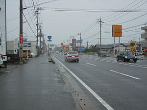Japan National Route 208 Saga Honjo.JPG