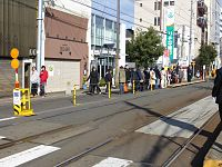 Japanese New Year of Sumiyoshi Station Osaka (04) IMG 8739 R 20150103.JPG