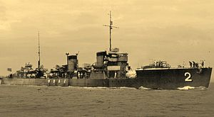 Japanese destroyer Minekaze Yokosuka Showa 7.jpg