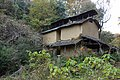 Japanese huts for drying tobacco leaves.jpg
