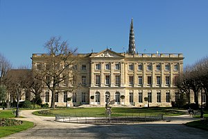 House of Rohan - Palais Rohan in Bordeaux, Aquitaine (completed in 1774)