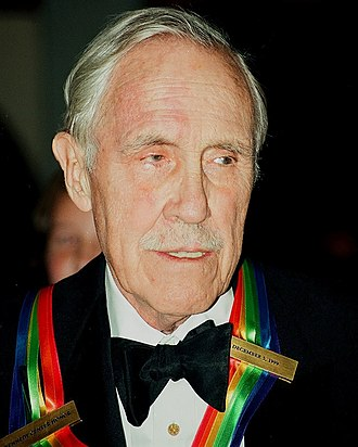 Jason Robards - Robards upon receiving the Kennedy Center Honors ribbon