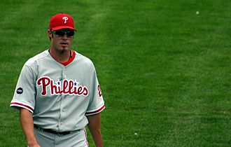 Jayson Werth - Jayson Werth at Wrigley Field during a 2007 game vs. the Cubs.