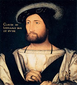 Jean Clouet - Portrait of Claude of Lorraine, Duke of Guise - WGA5083.jpg