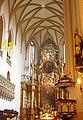 Jelenia Góra, ołtarz główny w kościele pw. śś. Erazma i Pankracego - 19.11.2011 r.SDC10223.JPG