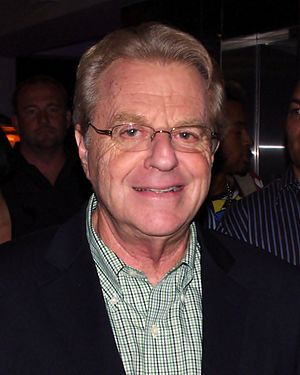 English: Jerry Springer at the Copacabana in N...