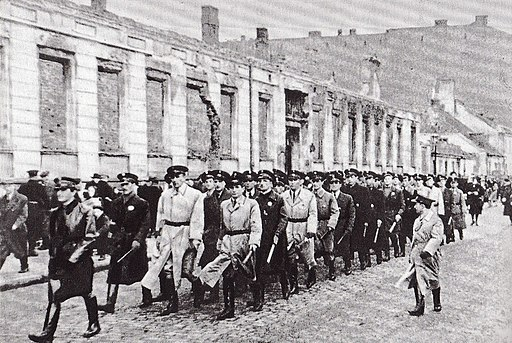 Jewish Ghetto Police Warsaw 01