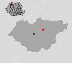 Location of Jibou