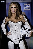 Jodi West as a Stormtrooper at AVN Adult Entertainment Expo 2016 (25571802861).jpg