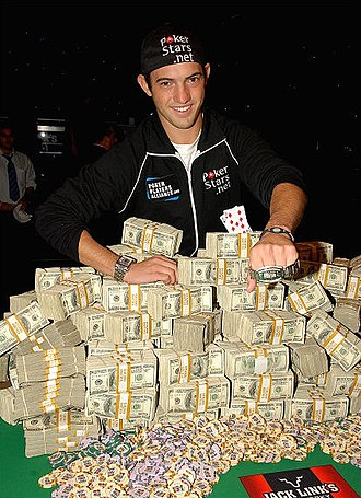 Joe Cada - Joe Cada after winning the 2009 World Series of Poker Main Event.