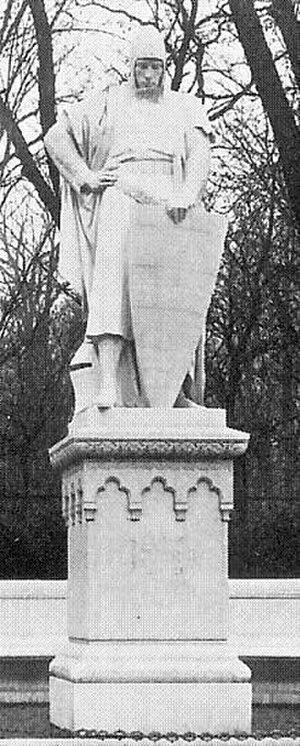 John II, Margrave of Brandenburg-Stendal - The statue of John II on the Siegesallee