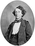 John A Macdonald in 1858