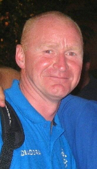 John Brown (footballer, born 1962) - Brown in 2005