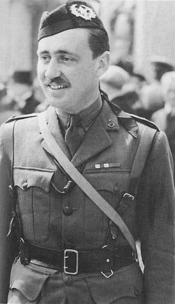 Lieutenant-Colonel John Frost, in the uniform of The Cameronians (Scottish Rifles)
