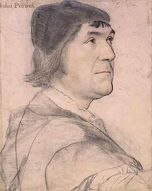 John Poyntz - John Poyntz by Hans Holbein the Younger
