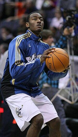 John Wall (basketball) - Wall warming up before a game
