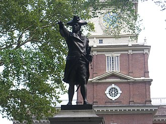 Samuel Murray - Commodore John Barry (1906-08), in the Statehouse Yard behind Independence Hall.